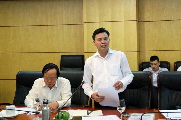 Ông Hoàng Văn Thức - Phó Tổng cục trưởng Tổng cục Môi trường (Ảnh: V.H).