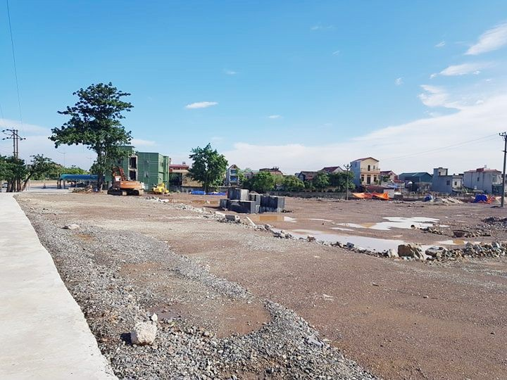 Công ty CP Bê tông thép Ninh Bình tiến hành xây dựng nhiều hạng mục khi chưa được cấp phép xây dựng.