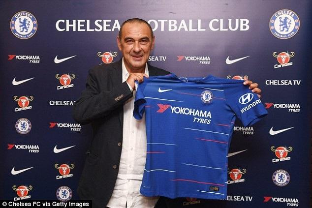HLV Sarri ra mắt CLB Chelsea