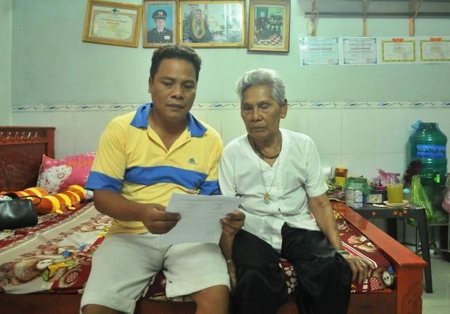 Hiện cụ Thị Sảnh đã 90 tuổi, sức khỏe yếu nên gia đình bà rất mong Thanh tra Chính phủ sớm có kết luận vụ việc