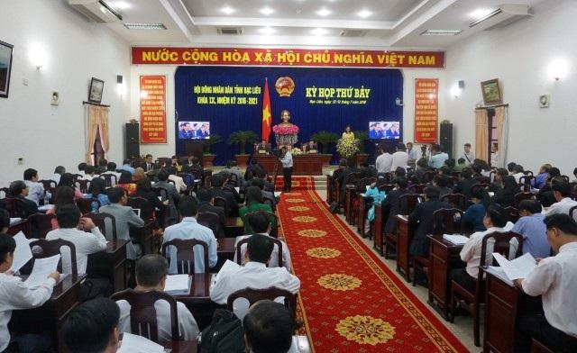 Kỳ họp thứ 7 - HĐND tỉnh Bạc Liêu chất vấn đến 5 Sở, Ban ngành, địa phương.