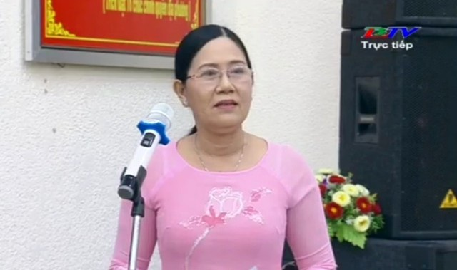 Bà Lê Hồng Thu- Phó Chủ tịch UBND TP Bạc Liêu thừa nhận có tình trạng quá tải sĩ số lớp học tại nhiều trường Tiểu học trên địa bàn TP.
