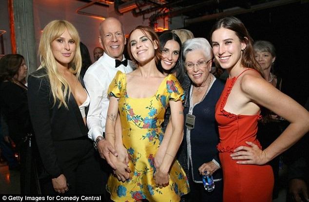 Demi Moore và chồng cũ đã có 3 con gái lớn xinh đẹp