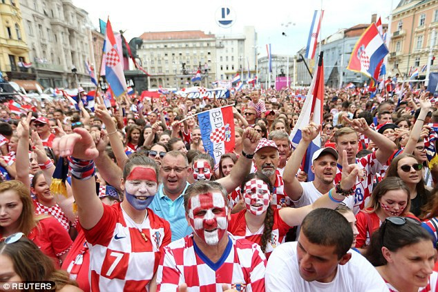 Đội tuyển Croatia rời Moscow để trở về quê nhà - 8