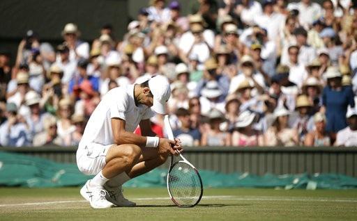 Anderson không còn đủ sức lực để cạnh tranh với Djokovic