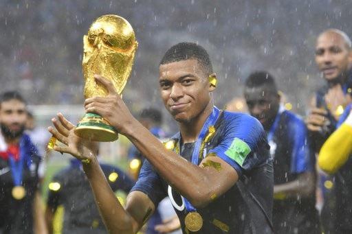 Mbappe đã là nhà vô địch World Cup