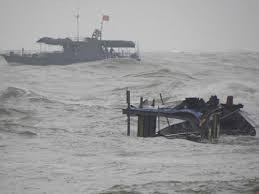 Tìm kiếm 3 thuyền viên mất tích trong vụ đắm tàu (ảnh minh họa)