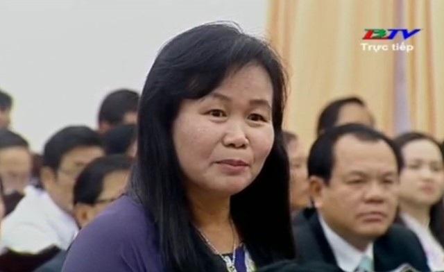 Đại biểu Bùi Thanh Nguyên chất vấn về dự án chậm tiến độ của Tập đoàn Nguyễn Kim tại Bạc Liêu.