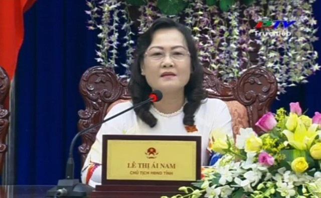 Chủ tịch HĐND tỉnh Bạc Liêu Lê Thị Ái Nam cho biết sẽ chờ cam kết của nhà đầu tư, của Sở KH&ĐT có thực hiện được hay không.