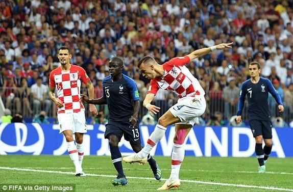 Kante đã không có được phong độ cao nhất ở trận chung kết World Cup 2018