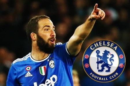 Higuain đang được đồn đoán sẽ chuyển đến Chelsea