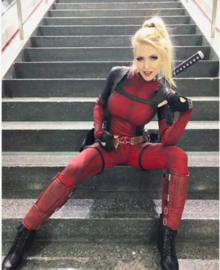 Nàng Deadpool vừa xinh đẹp lại vừa có nét lém lỉnh rất thu hút