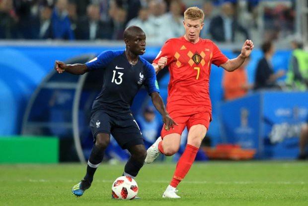 Kante là nhân tố cực kỳ quan trọng ở đội tuyển Pháp