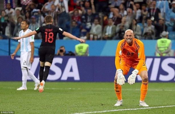 Caballero thi đấu quá tệ ở World Cup 2018