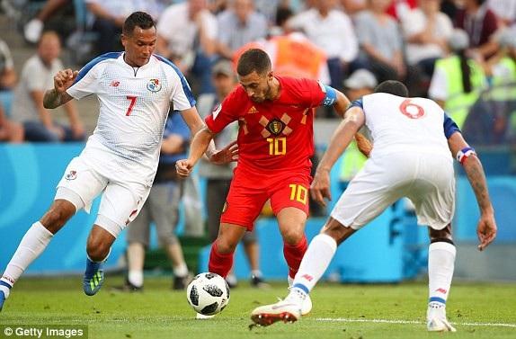 Trận đấu Bỉ 5-2 Panama là một trong những trận đấu có nhiều bàn thắng nhất