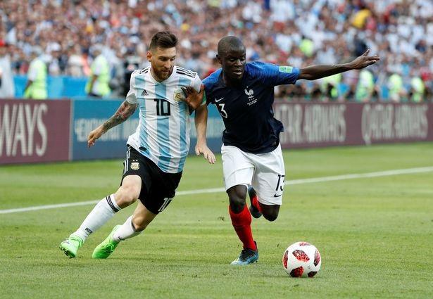 Kante đã khiến Messi không thể hiện được mình ở trận Pháp-Argentina