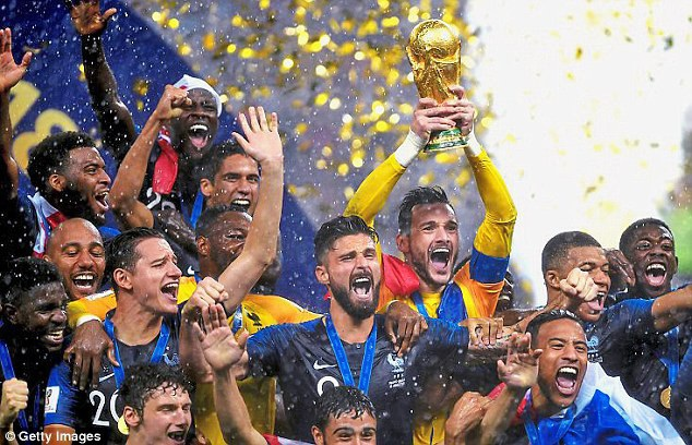 Pháp vô địch World Cup 2018 một cách thuyết phục