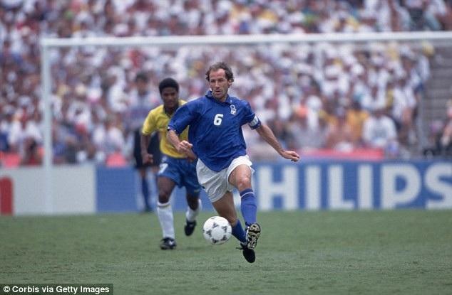Baresi vô địch World Cup 1982 khi chưa đá cho Italia một phút nào