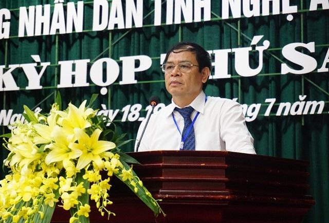Hoàng Văn Tám - Giám đốc Sở Công Thương Nghệ An xin lỗi người dân vì những bất cập trong tái định cư các công trình thủy điện chưa được giải quyết