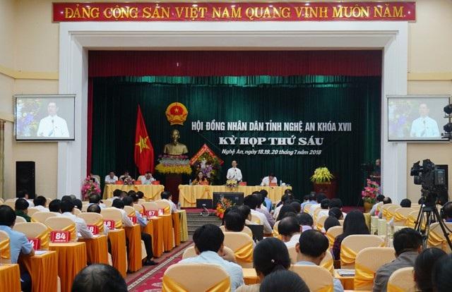 Phiên chất vấn Kỳ họp thứ 6 HĐND tỉnh Nghệ An khóa XVII