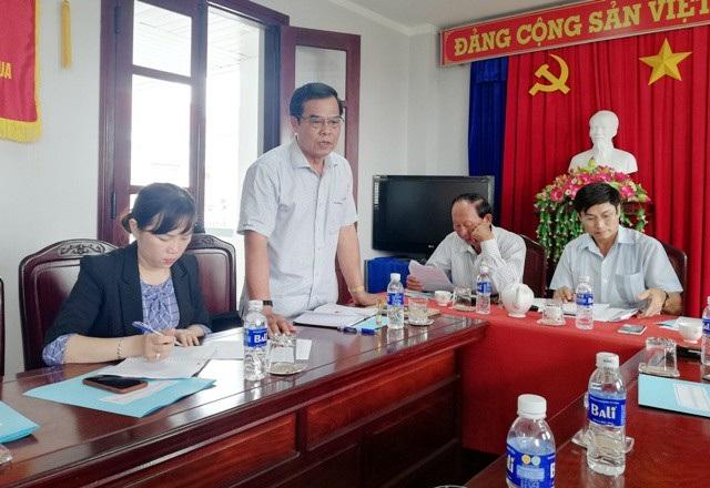 Chánh văn phòng UBND tỉnh Bạc Liêu Nguyễn Tấn Khương cho biết sẽ có chỉ đạo Sở Giáo dục kiểm tra, làm rõ.