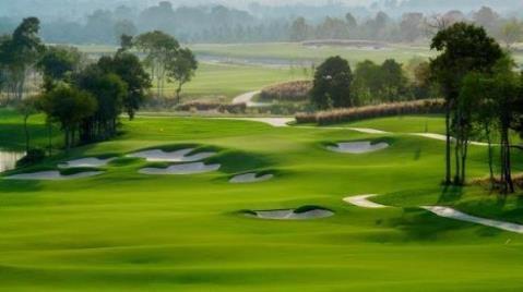 Sân golf 18 hố dành cho Giải Vinpearl WAGC VietNam 2018 có thiết kế mang hơi hướng golf resort. Điều này đảm bảo độ thử thách có phần đơn giản hơn và phù hợp cho mọi trình độ gôn thủ.