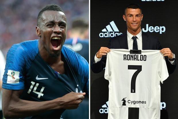 Matuidi lấy chức vô địch thế giới để đùa với C.Ronaldo
