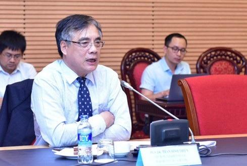 PGS, TS Trần Đình Thiên, thành viên Tổ Tư vấn kinh tế của Thủ tướng Chính phủ, nguyên Viện trưởng Viện Kinh tế Việt Nam.