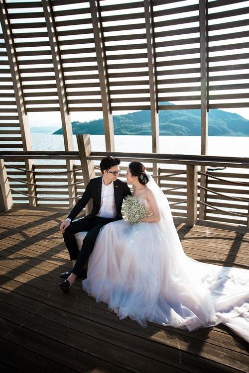 Ảnh cưới ngọt ngào của Á hậu Tú Anh và vị hôn phu Gia Lộc - 5