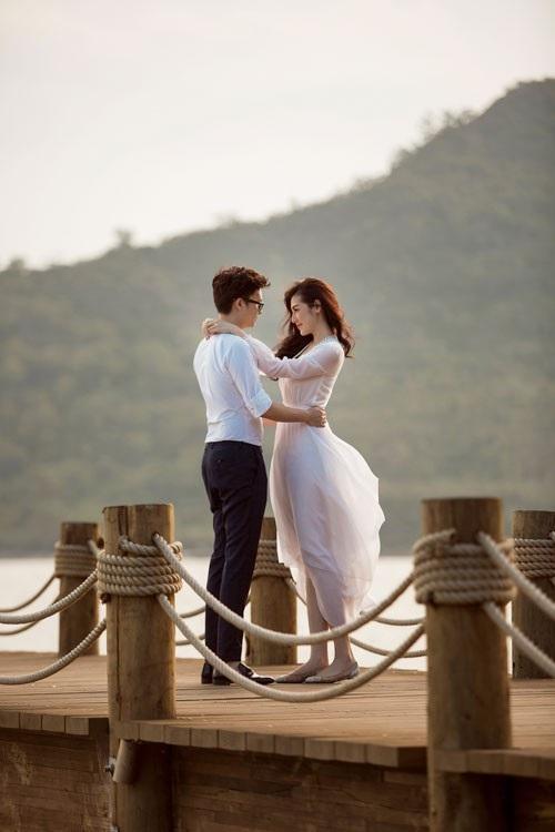 Ảnh cưới ngọt ngào của Á hậu Tú Anh và vị hôn phu Gia Lộc - 7