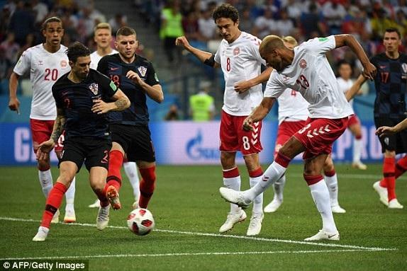 Croatia 1-1 Đan Mạch (penalty 3-2): Quá căng thẳng, kịch tính - 25