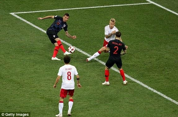 Croatia 1-1 Đan Mạch (penalty 3-2): Quá căng thẳng, kịch tính - 23