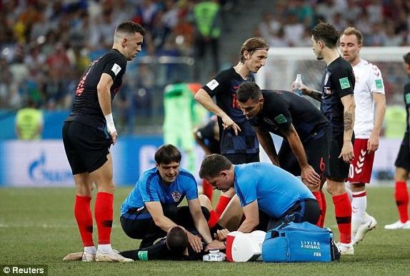 Croatia gặp rất nhiều khó khăn trước sự quả cảm của Đan Mạch
