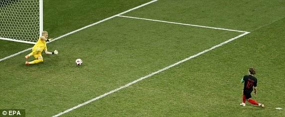 Croatia 1-1 Đan Mạch (penalty 3-2): Quá căng thẳng, kịch tính - 9