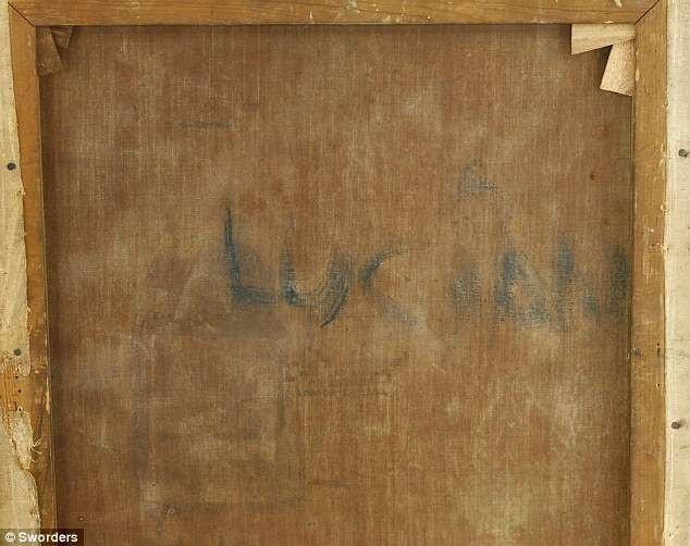 Các chuyên gia đã có được manh mối đầu tiên từ chữ Lucian viết ở mặt sau của khung tranh. Bức tranh đã được tìm thấy trong tầng hầm căn nhà của Tom Wright hồi năm 2015, sau khi người vợ góa của ông qua đời.