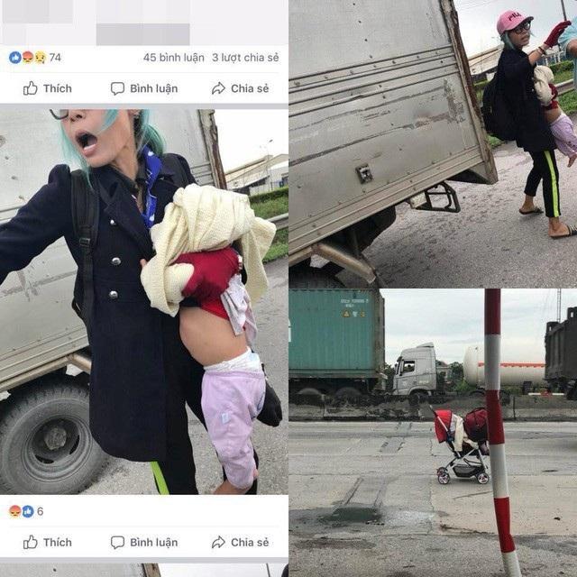 Hình ảnh Hotgirl Bella bị tố bạo hành con trai mình, hình ảnh được mạng xã hội chia sẻ.