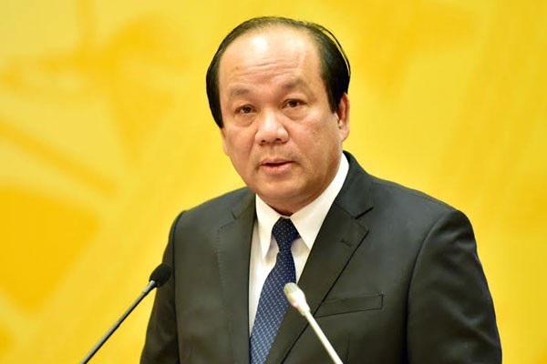 Bộ trưởng- Chủ nhiệm Văn phòng Chính phủ Mai Tiến Dũng.