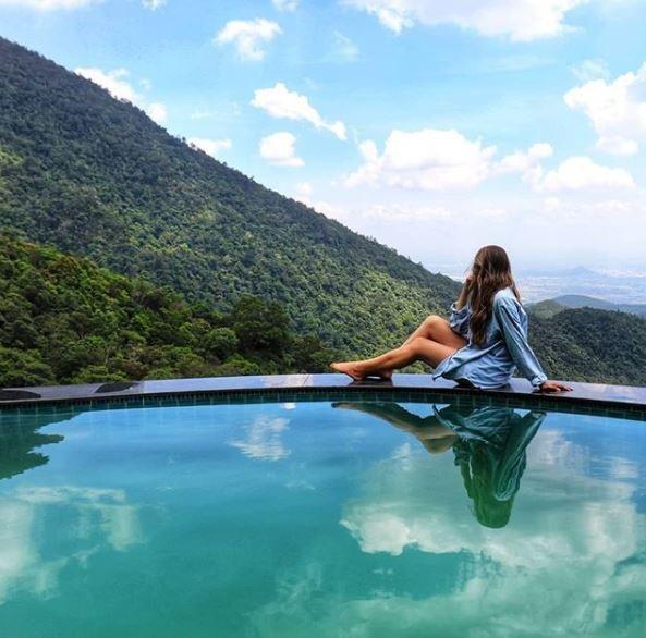 Phòng ở Tam Đảo khá rẻ và có view đẹp, thoáng mát với nhiều tiện nghi cho du khách lựa chọn. Ảnh: @kitty.210789