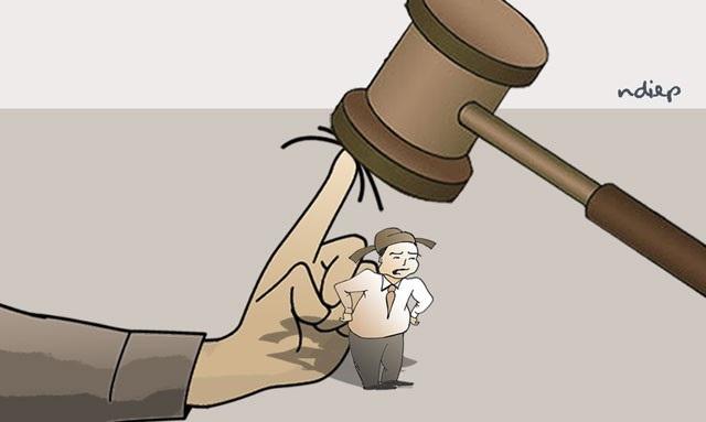 Xử án quan và xử án dân - 1
