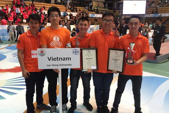 Đại học Lạc Hồng là ngôi trường mơ ước dành cho ai có ước mơ công nghệ với đội tuyển Robocon Việt Nam