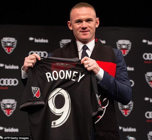 Rooney đã chuyển sang Mỹ thi đấu