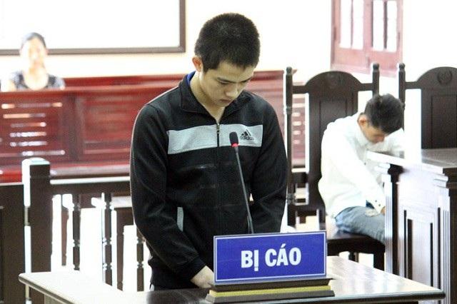 Đào Văn Bằng tại phiên tòa. (Ảnh: T.L)