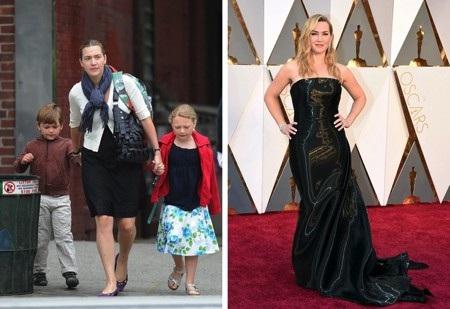 """Bà mẹ 3 con Kate Winslet từng chia sẻ rằng bản thân đã không đứng lên bàn cân trong suốt 12 năm. Và chính sự tự tin không màng béo gầy đã khiến nữ diễn viên phim """"Titanic"""" thêm phần xinh đẹp."""