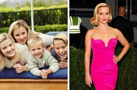 Reese Witherspoon cũng là một bà mẹ 3 con bận bịu tại Hollywood. Tuy nhiên, nữ diễn viên vẫn dành thời gian tập chạy, tập yoga kết hợp với các bài tập pilates và cardio khỏe khoắn.