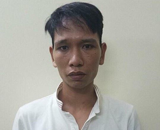 Đối tượng Phong tại cơ quan điều tra