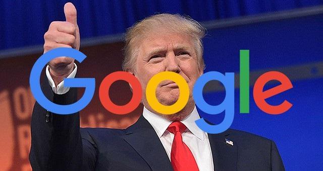 Tổng thống Donald Trump bất ngờ ủng hộ Google trong quyết định bị xử phạt mới đây từ EU.