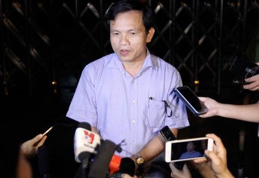 Trao đổi với báo chí tối muộn ngày 21/7, ông Mai Văn Trinh cho biết có dấu hiệu can thiệp, làm thay đổi kết quả thi của thí sinh ở cụm thi số 14.