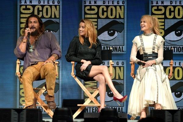 Aquaman với kinh phí làm phim lên tới 160 triệu USD sẽ ra mắt khán giả vào tháng 12 tới
