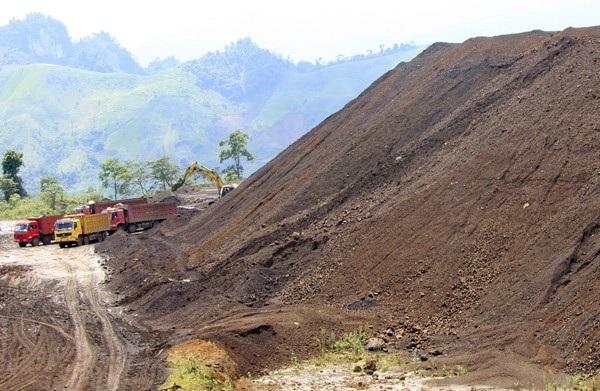 Khai thác khoáng sản ở mỏ Quý Xa, Lào Cai (Ảnh minh họa/Báo Lào Cai)