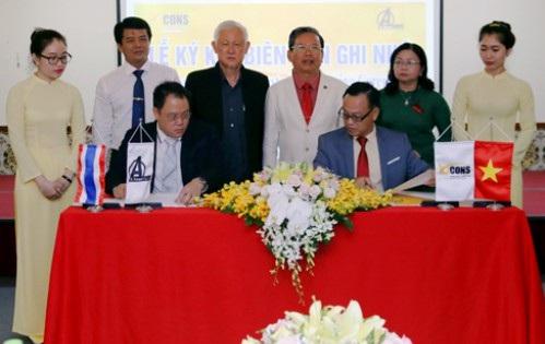 Lễ ký kết biên bản ghi nhớ hợp tác chiến lược giữa Bcons và A Asset Co., Ltd.